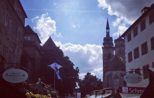 Auf dem Stuttgarter Weindorf läufts...