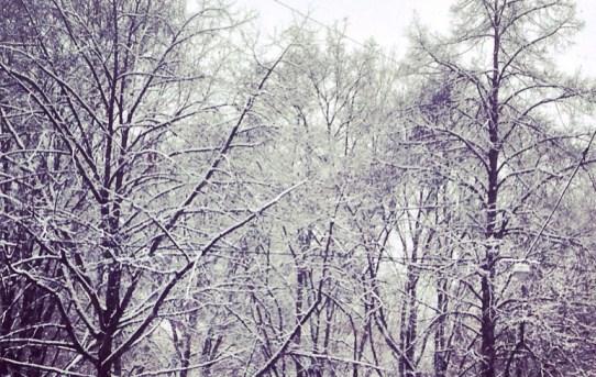 Krass, es schneit!