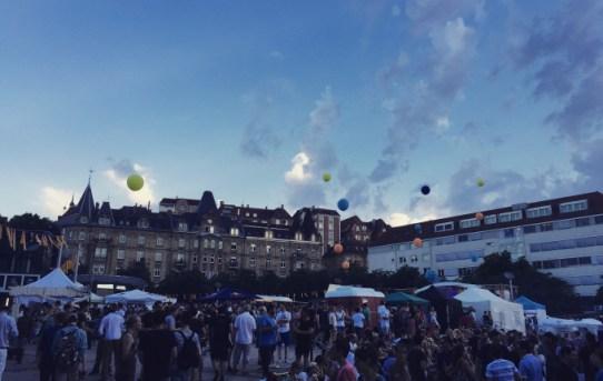 Marienplatzfest 2016 - Wetter hält, Stimmung super