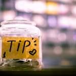 uang tip ojek online