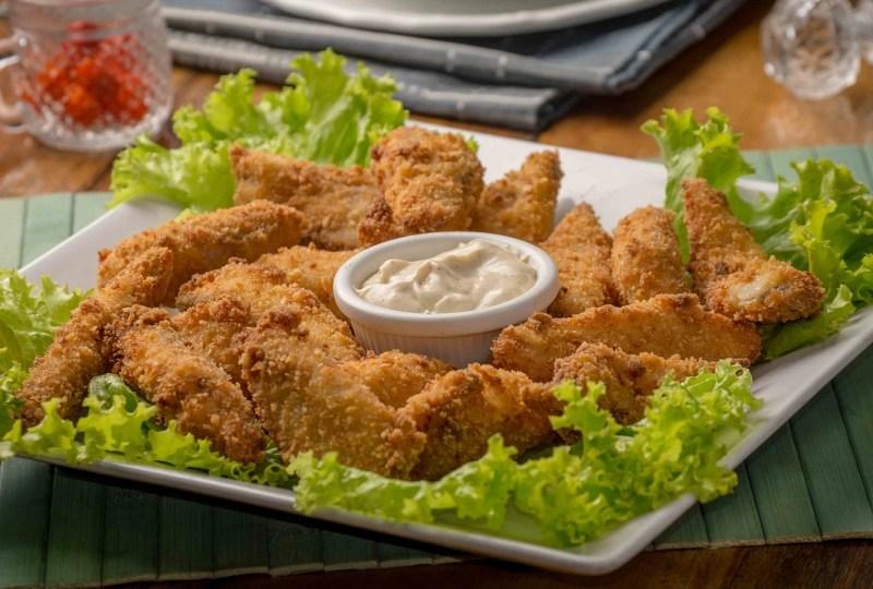 paha ayam dan dada ayam