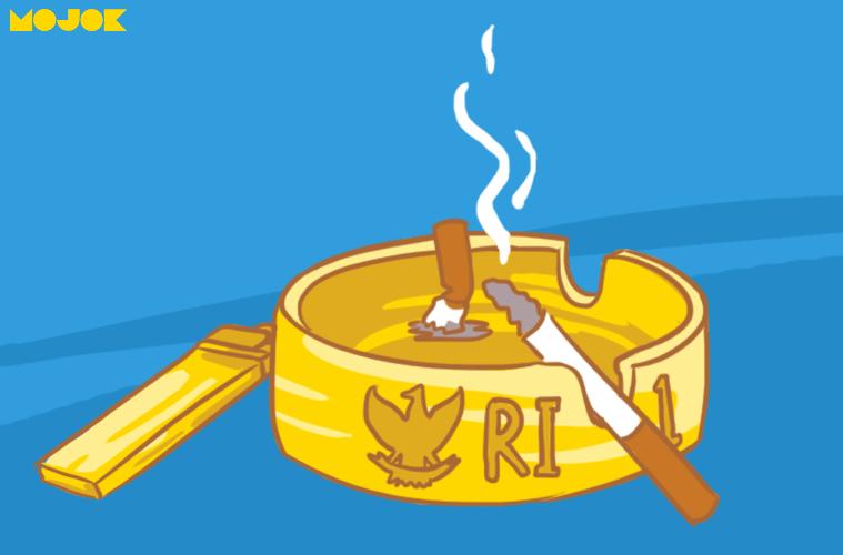 sukarno si perokok baik co