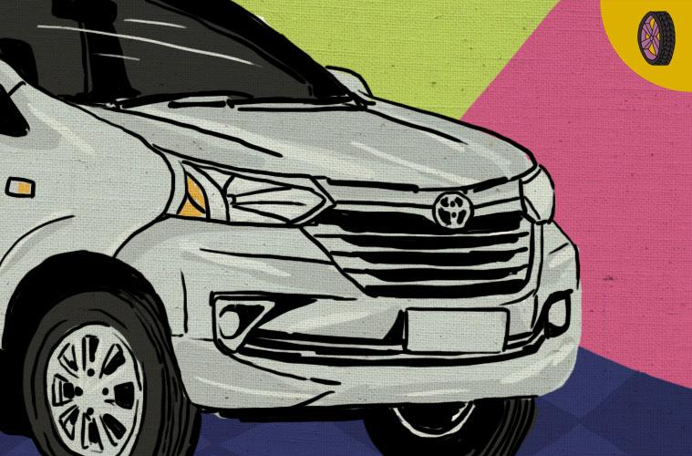 80 Gambar Mobil Avanza Tampak Samping Terbaik