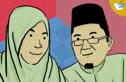 Afi Nihaya Faradisa dan Alfian Tanjung Mojok