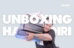 Unboxing Sandal Swallow