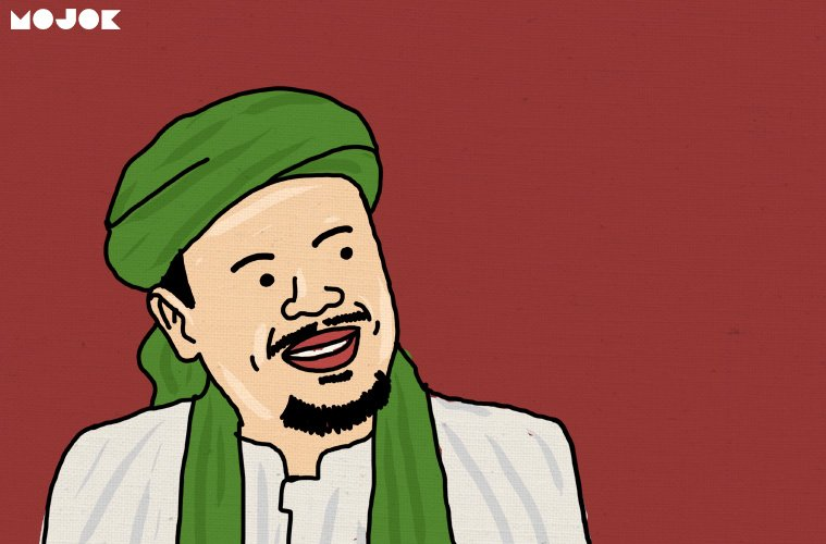 Hasil gambar untuk kartun rizieq shihab