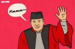 Arief Hidayat, Ketua MK yang Didesak Mundur Menjelang Valentine