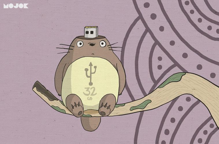 Totoro-jadi-Flashdisk-MOJOK.CO