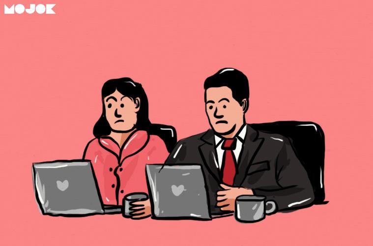 stigma kerja kantoran PNS pegawai swasta kantor mojok kerja dibank freelancer kerja serabutan anggapan boomer mojok.co