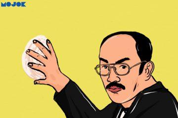 """Lucunya Pak Fredrich """"Bakpao"""" Yunadi Membawa Bakpao ke Persidangan"""