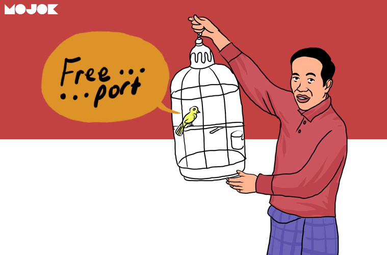 Jokowi Stop Kontrak Freeport - MOJOK.CO