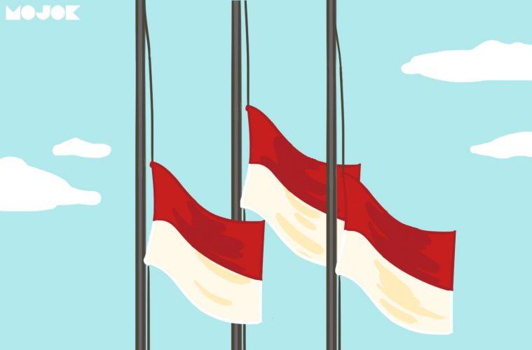 Bendera Setengah Tiang Kenapa Dikibarkan Tanggal 30