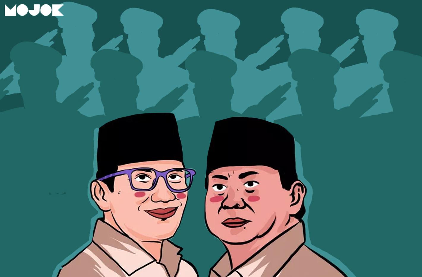 Pasangan Prabowo Sandiaga Uno Mendapatkan Dukungan Dari 300 Jenderal Jendral Kardus