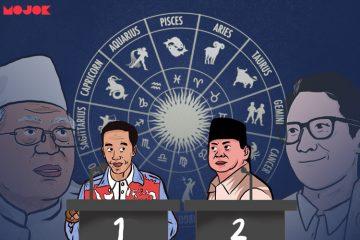 Zodiak Jokowi Prabowo Capres Cawapres
