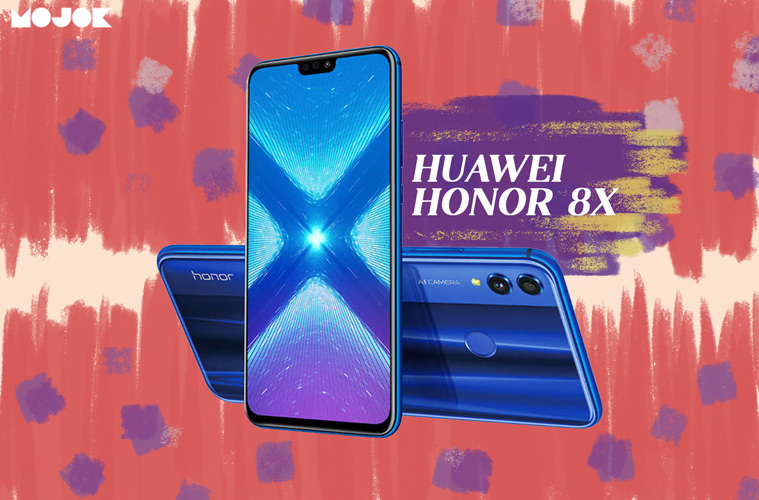 Huawei Honor 8X: Pesaing Redmi Note 6 Pro