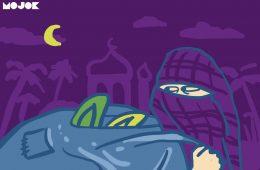 mop pencuri sandal masjid MOJOK.CO