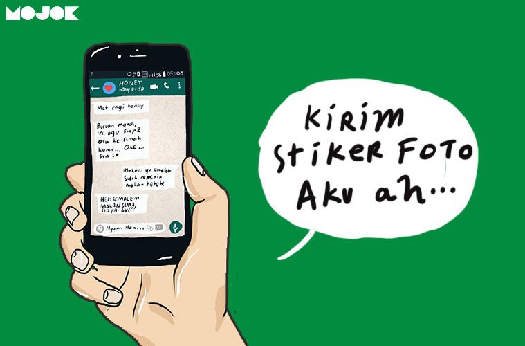 Tren Stiker Whatsapp Pakai Wajah Sendiri Cara Menjadi Seleb Yang