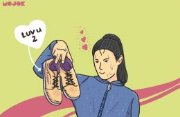 memilih sepatu Lari kucinta-MOJOK.CO