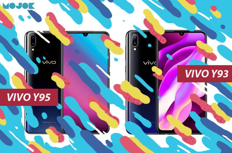 Tiga Perbedaan Vivo Y93 dan Vivo Y95