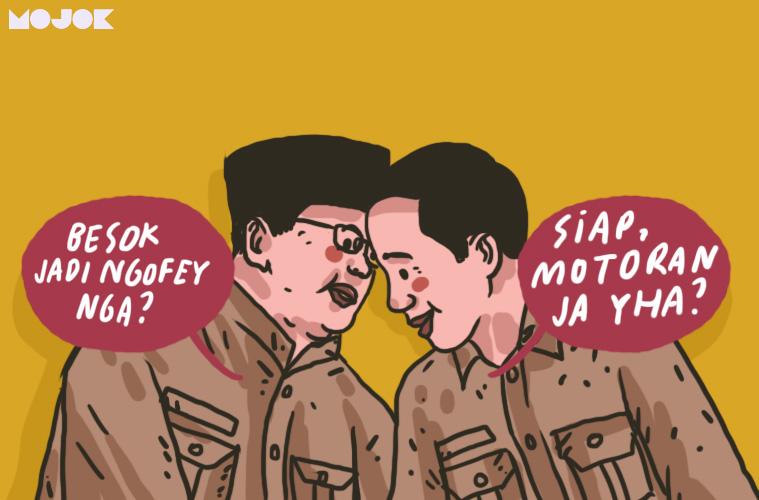 Prabowo untuk Jokowi MOJOK.CO