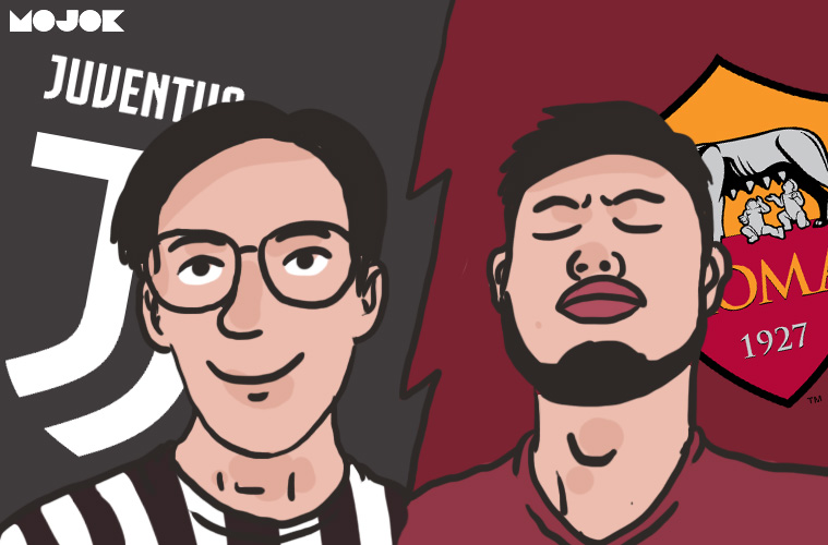 Juventus vs Roma MOJOK.CO