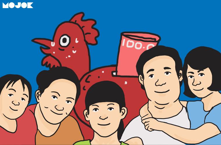 pelajaran ekonomi berharga keluarga cemara