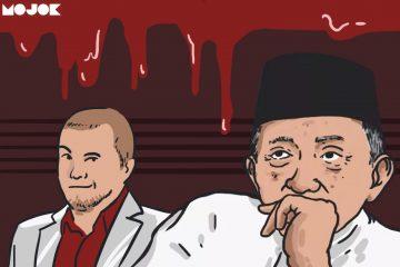 Amien Rais dan Joko Anwar MOJOK.CO