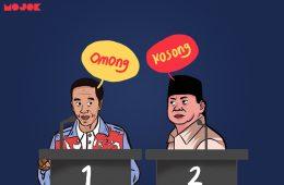 Debat capres Jokowi Prabowo MOJOK.CO