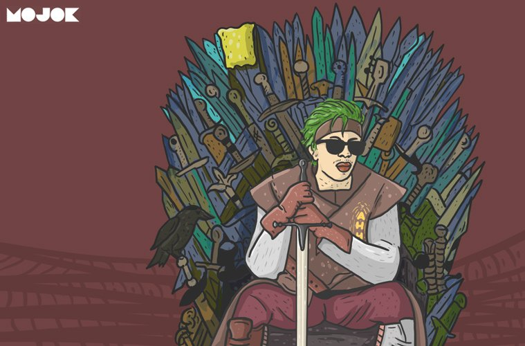 drawing game pewdiepie Game Of Thrones YouTuber Indonesia Dari Ned Stark Jess No