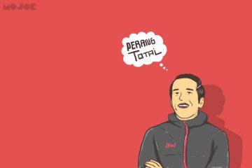 Jokowi Perang Total MOJOK.CO