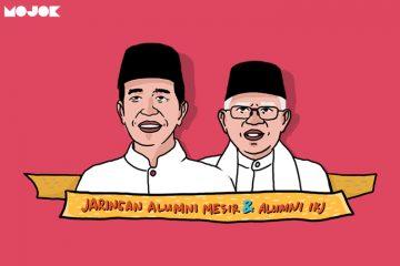 Jokowi dan Ma'ruf Amin didukung alumni MOJOK.CO