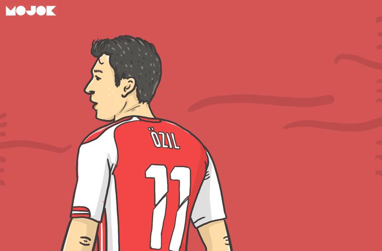 Mesut Ozil vs Unai Emery MOJOK.CO