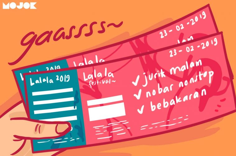 Lalala Fest Nggak Sekalian Bikin Konser Musik Jurit Malam