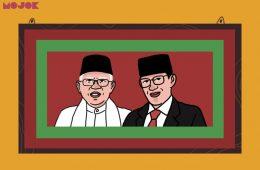 Ma'ruf Amin vs Sandiaga Uno MOJOK.CO