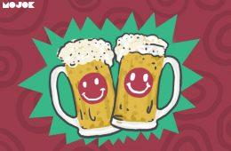 Cara bahagia dan bir dingin MOJOK.CO