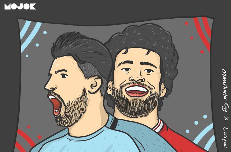 Liverpool x Manchester City MOJOK.CO
