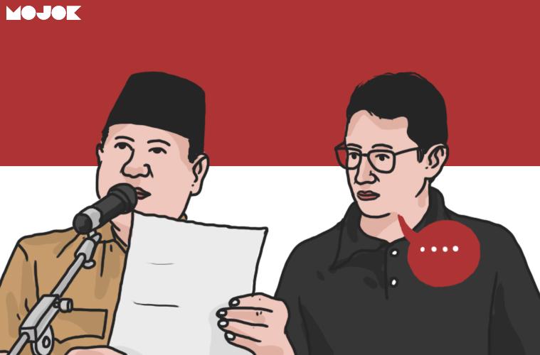 Prabowo dan Sandiaga Uno kalah MOJOK.CO
