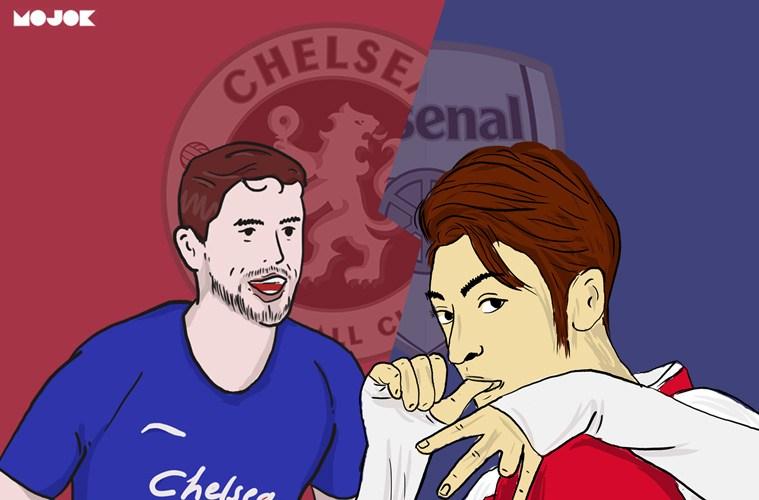 Chelsea vs Arsenal MOJOK.CO_