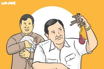 """Di Mata Luhut, Prabowo Itu Kesatria: """"Jangan Ada yang Rame-rame Lagi."""""""