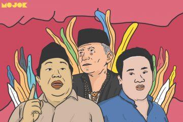 Arif Poyuono Amien Rais dan Farhat MOJOK.CO