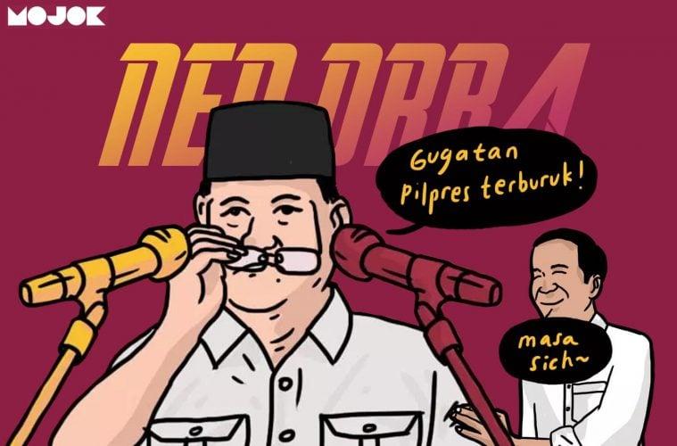 Prabowo sebut Jokowi neo-Orba MOJOK.CO