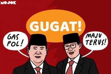 Prabowo dan Sandiaga Uno Gugatan