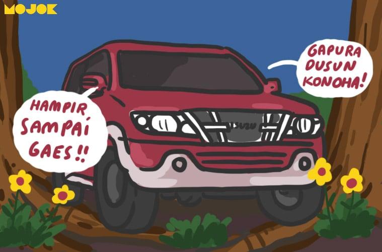 Balada Mengandalkan Isuzu Panther buat Rombongan Silaturahmi Lebaran - Mojok.co