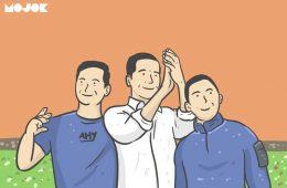 AHY dan Ibas Lebaran ke Jokowi, Selanjutnya ke Pak Prabowo, Nih?
