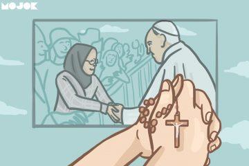 Untuk Muslimah yang Salaman dengan Paus Fransiskus dari Saya yang Katolik