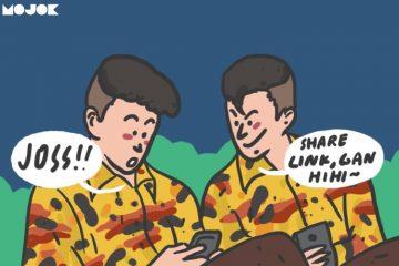 Jenuh Prabowo dan Jokowi MOJOK.CO