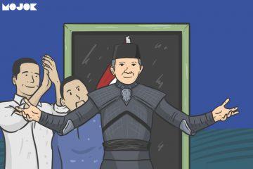 Amien Rais dan Jokowi MOJOK.CO
