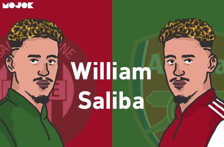 William Saliba ke Arsenal MOJOK.CO