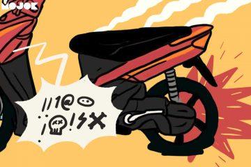 jenis ban motor ban bocor motor matik kesalahan pengguna aki drop keyless system ngecek ban mematikan motor pakai standar hal buruk tidak boleh dilakukan mojok.co
