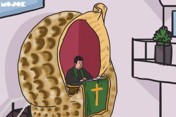 mimbar gereja MOJOK.CO